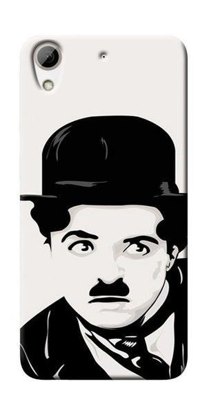 Charlie Chaplin Printed Designer Back Case Cover For HTC Desire 626