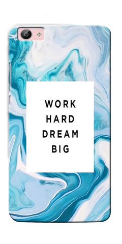 Digiprints Work Hard Dream Big Printed Designer Back Case Cover For Vivo V5 Plus