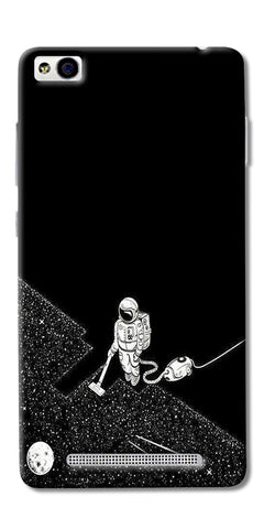 Vaccume Claner In Space Printed Designer Back Case Cover For Xiaomi Redmi 3s
