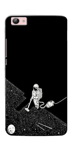 Digiprints Vaccume Claner In Space Printed Designer Back Case Cover For Vivo V5 Plus
