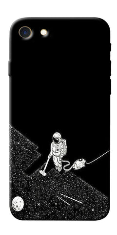 Digiprints Vaccume Claner In Space Printed Designer Back Case Cover For Apple iPhone 7
