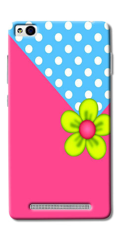 Pink Pattern Flower Art Printed Designer Back Case Cover For Xiaomi Redmi 3s