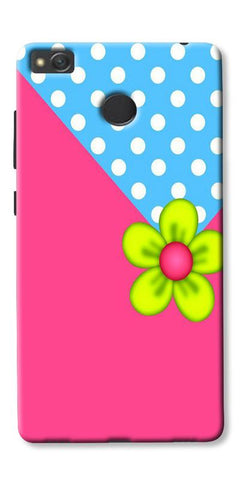 Pink Pattern Flower Art Printed Designer Back Case Cover For Xiaomi Redmi 3s Prime