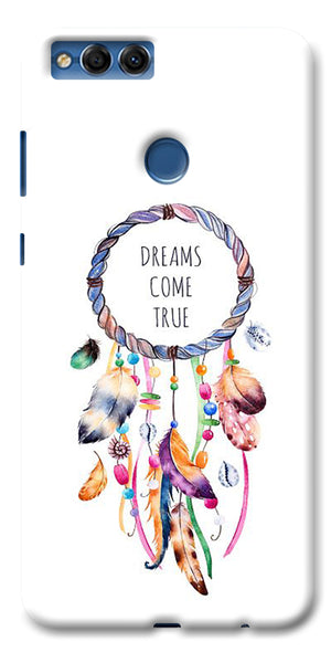 Digiprints Dream Come True Printed Designer Back Case Cover For Huawei Honor 7X