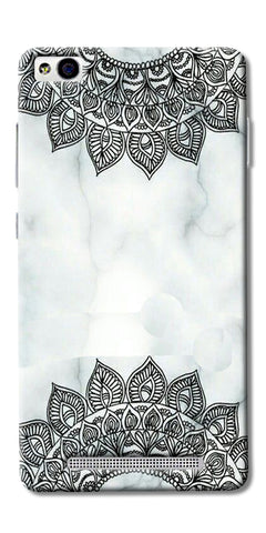 Ehtnic Pattern On Marble Printed Designer Back Case Cover For Xiaomi Redmi 3s