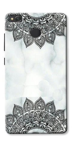 Ehtnic Pattern On Marble Printed Designer Back Case Cover For Xiaomi Redmi 3s Prime