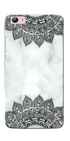 Digiprints Ehtnic Pattern On Marble Printed Designer Back Case Cover For Vivo V5