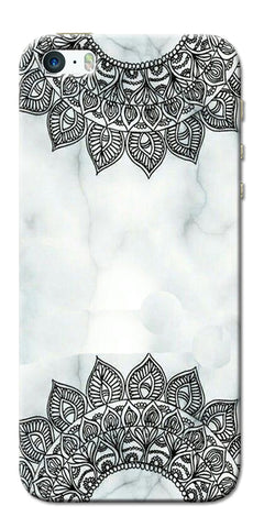 Digiprints Ehtnic Pattern On Marble Printed Designer Back Case Cover For Apple iPhone 5