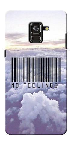 No Feeling  Printed Designer Back Case Cover For Samsung Galaxy A8 Plus 2018