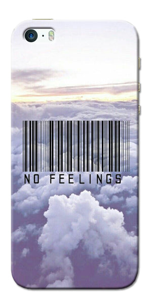 Digiprints No Feeling  Printed Designer Back Case Cover For Apple iPhone 5