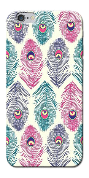 Digiprints Colorful Feathers Printed Designer Back Case Cover For Apple iPhone 6s