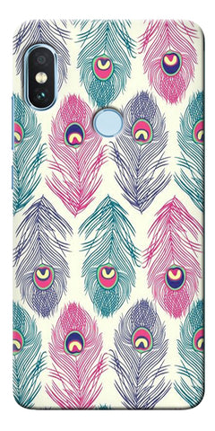Green Ethnic Pattern Printed Designer Back Case Cover For Xiaomi Redmi Note 5 Pro