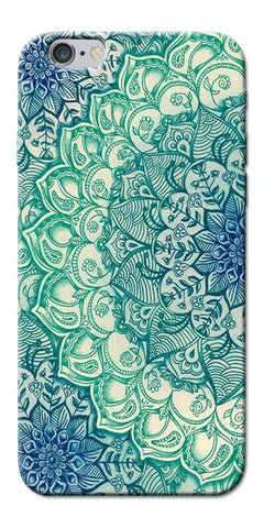 Digiprints Green Ethnic Pattern Printed Designer Back Case Cover For Apple iPhone 6s