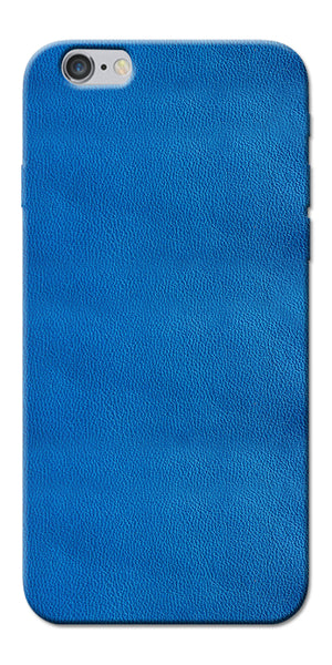 Digiprints Blue Leather Pattern Printed Designer Back Case Cover For Apple iPhone 6s