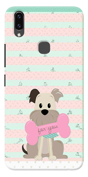 Innocent Puppy  Printed Designer Back Case Cover For Vivo V9