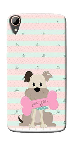Innocent Puppy  Printed Designer Back Case Cover For HTC Desire 828