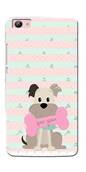 Digiprints Innocent Puppy  Printed Designer Back Case Cover For Vivo V5S