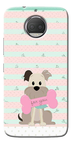 Innocent Puppy  Printed Designer Back Case Cover For Motorola Moto G5S Plus