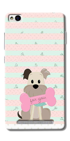 Innocent Puppy  Printed Designer Back Case Cover For Xiaomi Redmi 3s