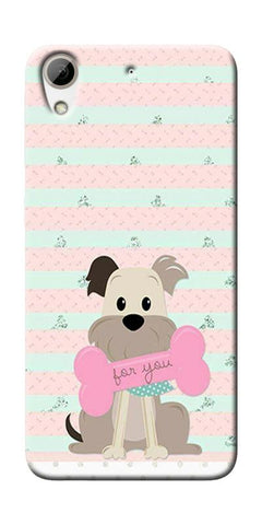 Innocent Puppy  Printed Designer Back Case Cover For HTC Desire 626