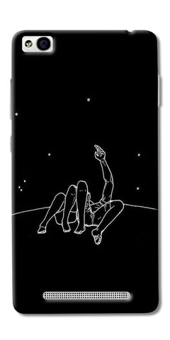 Couple In Moonlight Printed Designer Back Case Cover For Xiaomi Redmi 3s
