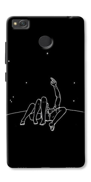 Couple In Moonlight Printed Designer Back Case Cover For Xiaomi Redmi 3s Prime