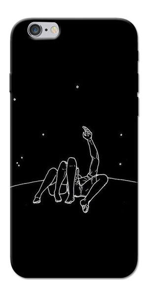 Digiprints Couple In Moonlight Printed Designer Back Case Cover For Apple iPhone 6s