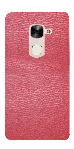 Pink Leather Design Printed Designer Back Case Cover For LeEco Le 2