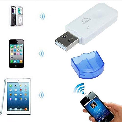 USB Bluetooth Audio Stereo Receiver Wireless Handsfree Bluetooth Adapter Dongle Kit