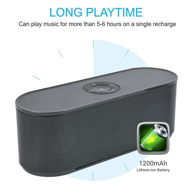 Wireless Stereo portable Bluetooth Speaker S207  5W