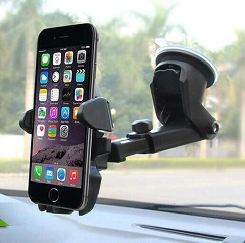Vehicle Mobile Phone Bracket Vehicle Suction Cup Navigation Rack Silicon Rubber Bottom Adsorption Instrument Platform Mobile Phone Rack