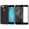 Digiprints Combo TPU Soft Flexible Shock Proof Back Cover Plus Black Tempered Glass For Xiaomi Redmi Y1