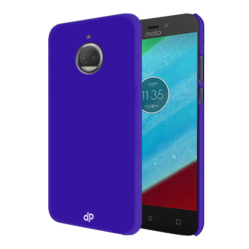 Digiprints Hard Back Case for Motorola Moto G5S Plus-Blue