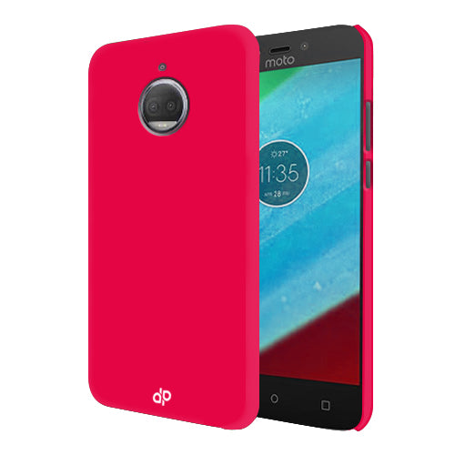 Digiprints Hard Back Case for Motorola Moto G5S Plus-Hot Pink