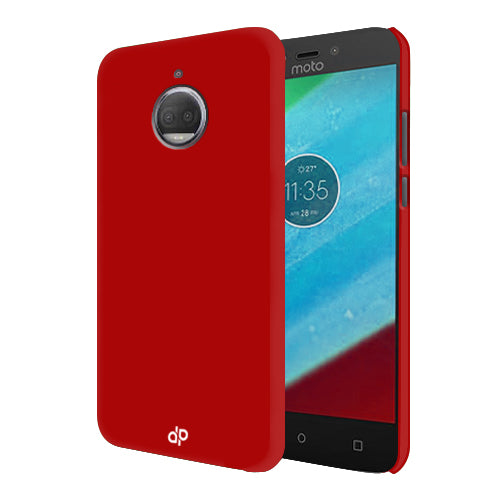 Digiprints Hard Back Case for Motorola Moto G5S Plus-Blood Red