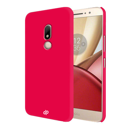 Digiprints Hard Back Case for Motorola Moto M-Hot Pink