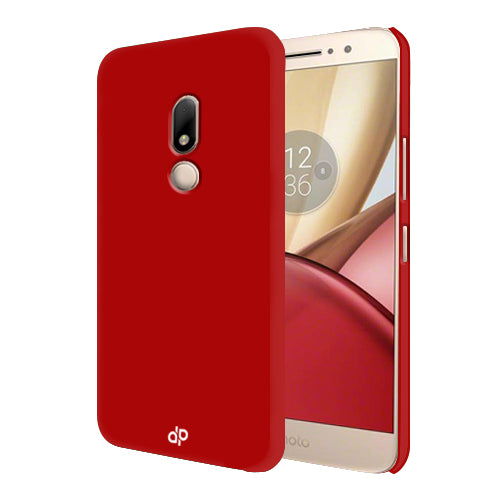 Digiprints Hard Back Case for Motorola Moto M-Blood Red