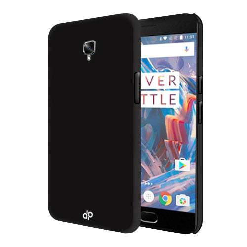 Digiprints Hard Back Case for Oneplus 3T-Black