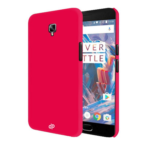 Digiprints Hard Back Case for Oneplus 3T-Hot Pink
