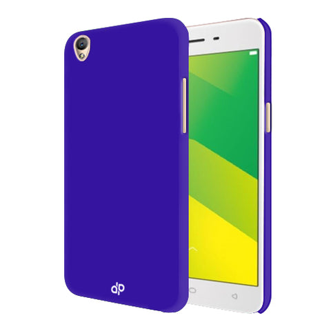 Digiprints Hard Back Case for Oppo A37-Blue