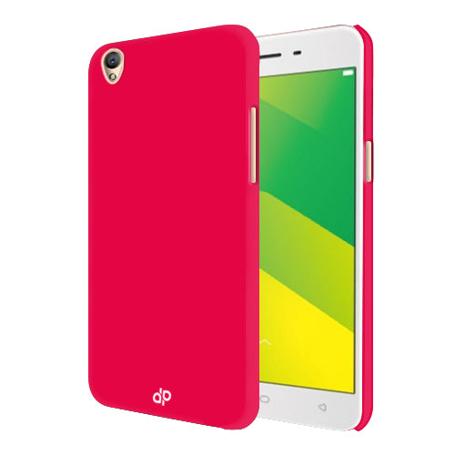 Digiprints Hard Back Case for Oppo A37-Hot Pink