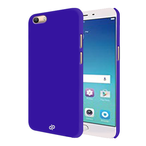 Digiprints Hard Back Case for Oppo F3-Blue