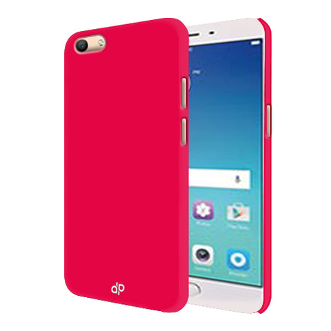 Digiprints Hard Back Case for Oppo F3-Hot Pink