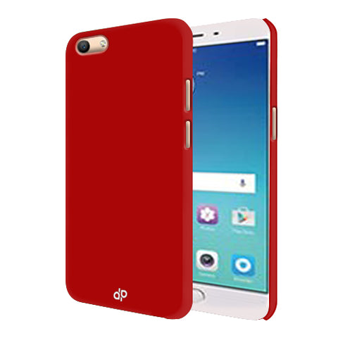 Digiprints Hard Back Case for Oppo F3-Blood Red
