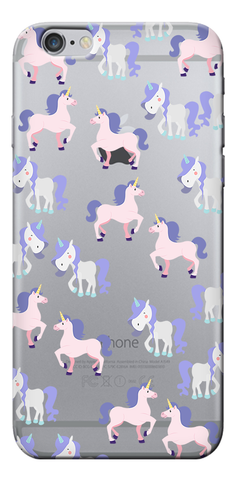 Yunicorn Collage Designer Clear Case For Apple Iphone 6