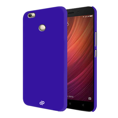 Digiprints Hard Back Case for Xiaomi Redmi 4-Blue