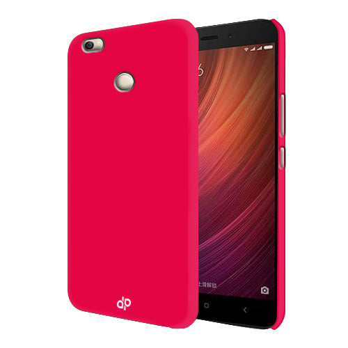 Digiprints Hard Back Case for Xiaomi Redmi 4-Hot Pink
