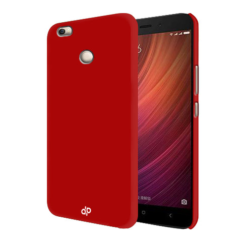 Digiprints Hard Back Case for Xiaomi Redmi 4-Blood Red