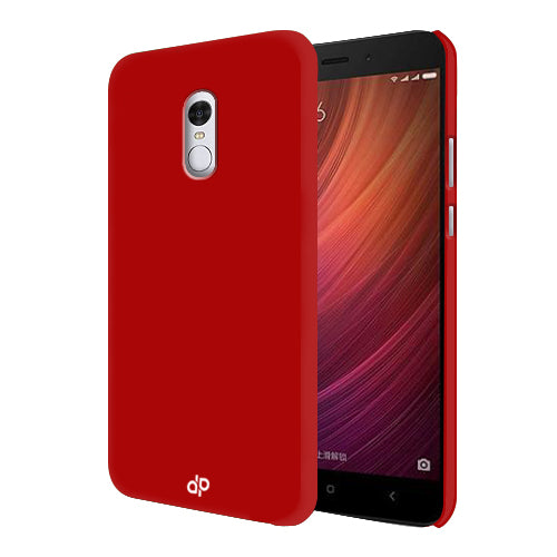 Digiprints Hard Back Case for Xiaomi Redmi Note 4-Blood Red