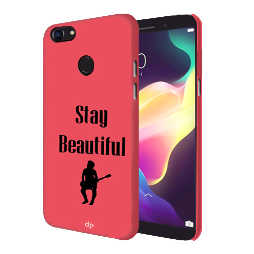 super popular 0ce1d ee26a Digiprints Stay Beautiful Printed Back Case Cover For Oppo F5 Youth